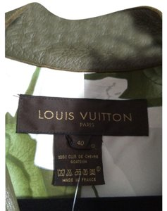 Louis Vuitton Olive Leather Jacket