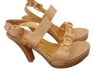 Baby Phat LOWERED PRICE! natural, nude, beige Sandals