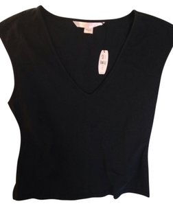 Victoria's Secret Loungewear Top Black