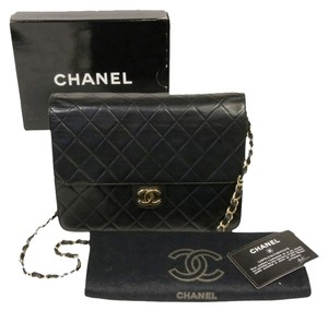 Chanel Cambon Jumbo Quilted Lather Shoulder Bag