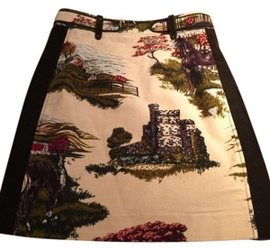 Anthropologie Skirt Multi Color
