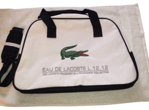 Lacoste White Travel Bag