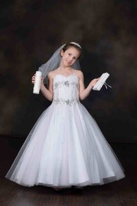 First Communion Or Flower Girl Dress