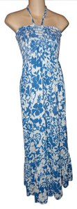 BLUE/WHITE Maxi Dress by Raviya India Boho Boho Chic Hippie