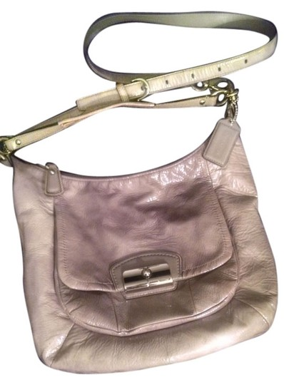 Coach / Shiny Glossy Large Crossbody Shoulder Bag