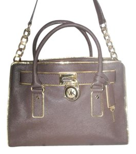 Michael Kors Next Day Shipping Satchel in Coffee