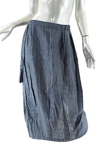 Shirin Guild Guild Denim Tulip Skirt Blue