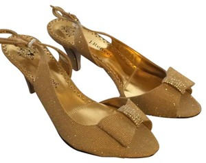 J. Renee Gold shimmer Formal