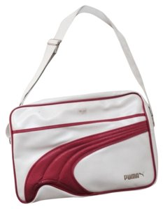 Puma White Messenger Bag