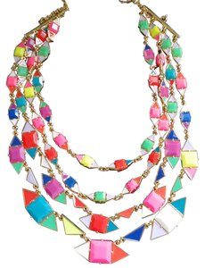 Kate Spade Kate Spade Multicolor Pueblo Tiles Multistrand Necklace