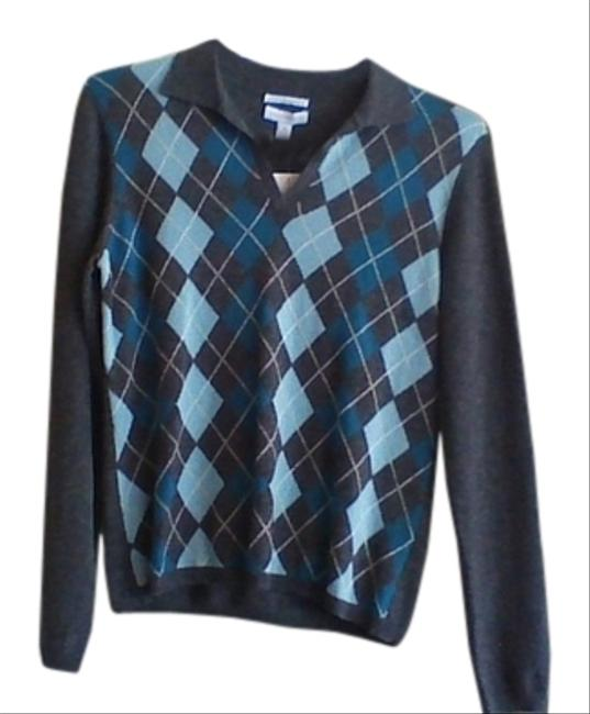 Charter Club Cashmere Argyle Sweater