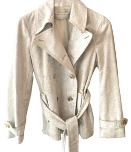 Charles Nolan White with beige crackling Jacket
