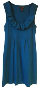 Banana Republic short dress Blue Sweater Ruffle on Tradesy