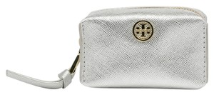 Tory Burch Tory Burch Robinson Baby Brigitte Zip Coin Cosmetic Case Small Size