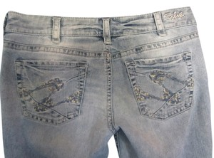 Silver Jeans Co. Capri/Cropped Denim-Distressed