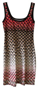 Bailey 44 short dress multi red bronze ombre on Tradesy