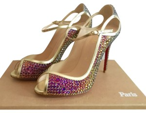 Christian Louboutin Crystal Multi colors Formal