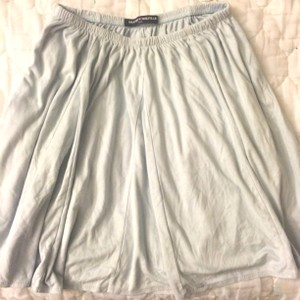 Brandy Melville Mini Skirt Powder Blue
