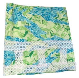 Lilly Pulitzer Skirt Blue and Green
