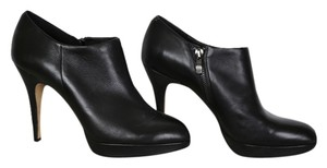 Vince Camuto Bootie Black Leather Platforms