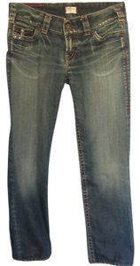 1921 Jeans Capri/Cropped Denim-Distressed