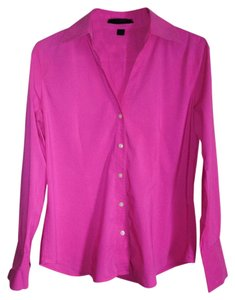 Express Blouse Blouse Blouse Shirt Shirt Button Down Shirt Pink