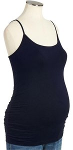Old Navy NEW Women's Maternity Jersey Polyester Blend Navy Blue Size Large New Tank Top