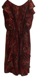 Gianni Bini short dress Red on Tradesy