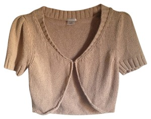 Old Navy Tan Brown Shrug Cropped Shrug Tan Brown Cropped Short Sleeve Shrug Brown Shrug Cropped Short Sleeve Shrug Cardigan