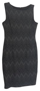 Nine West short dress Gray/ Black on Tradesy