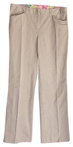 Lilly Pulitzer Straight Pants Khaki