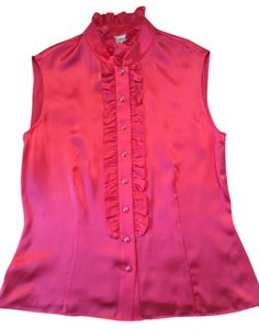 St. John Top NWT Passion Pink