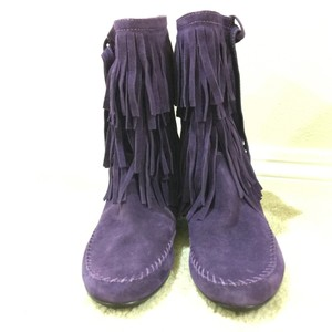 Juicy Couture Dark plum Boots