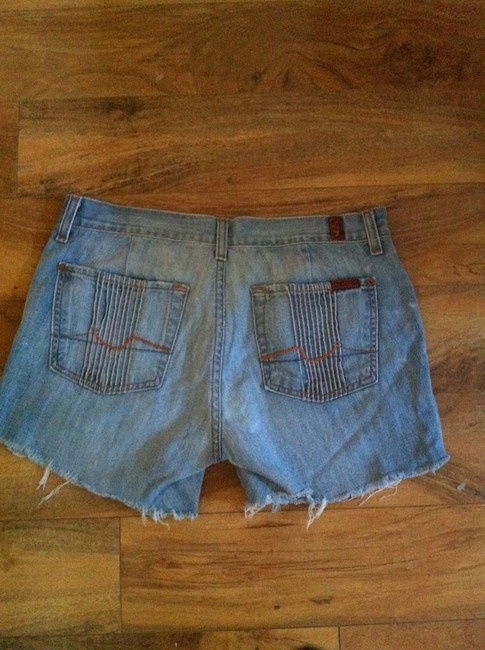 7 For All Mankind Shorts Light blue