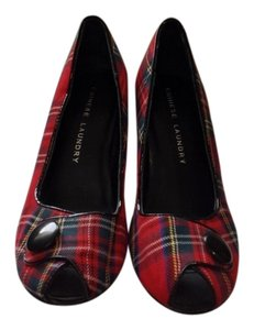 Chinese Laundry Plaid Pumps