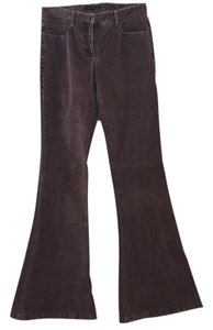 Theory Super Flare Pants Purple