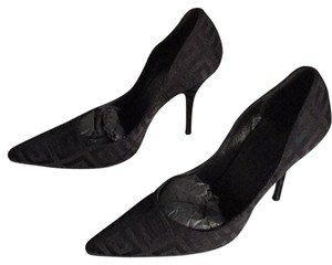 Givenchy Logo Satin Evening Night Out Black satin Pumps