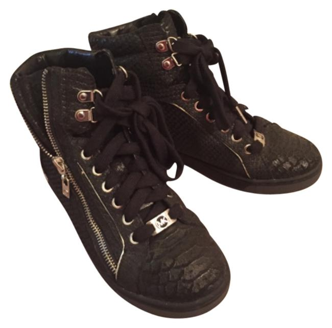 Item - Black with Silver Sneakers Size US 6.5 Regular (M, B)