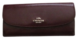 Coach Coach F52689 Crossgrain Leather Soft Wallet