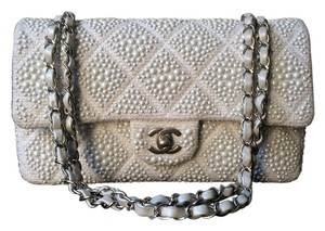Chanel Classic Pearl Wedding Special Occasion Shoulder Bag