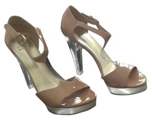 Stuart Weitzman High Heel Leather New Tan/nude Pumps