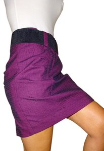 BCBGeneration Skirt Plum Pink Purple