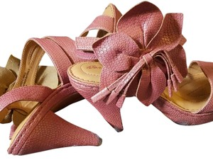 Brn Dusty Rose Sandals