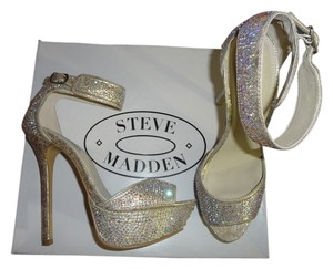 Steve Madden gold Sandals