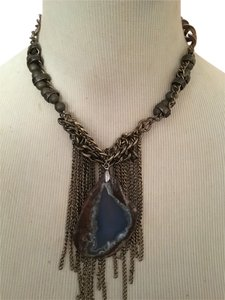 Liriashop Handmade Stone Multi Chain Necklace