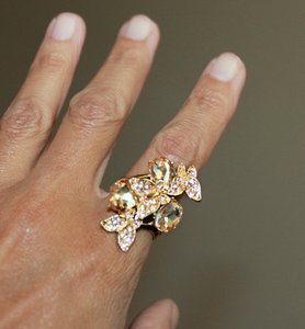 14K Gold FilledButterfly Ring