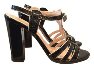 Bally Black patent Sandals