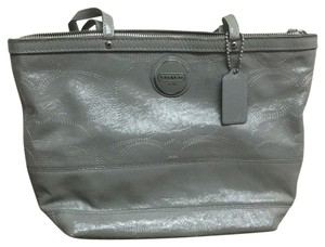 Coach Tote in Grey