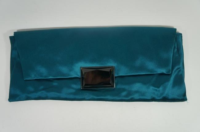 Item - Green Satin Clutch