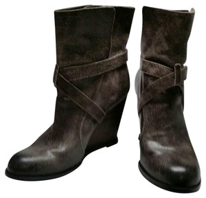 BCBGeneration Leather distressed gray Boots
